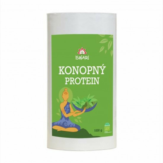 Iswari Konopný protein BIO 1000 g