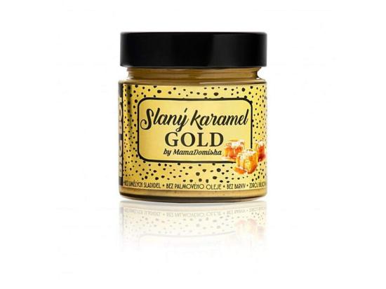 BIG BOY Slaný karamel GOLD MamaDomisha 250 g