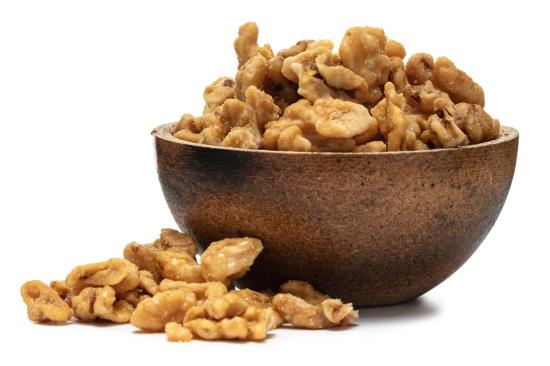 GRIZLY Vlašské ořechy loupané Slaný karamel 250 g