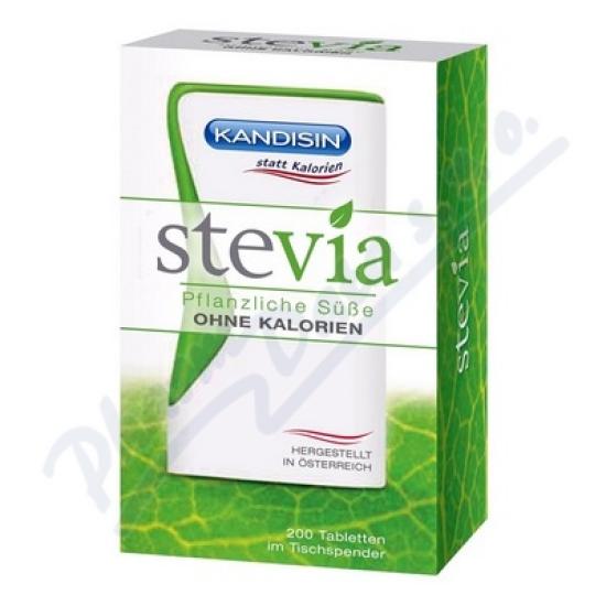 TEEKANNE Kandisin Stevia tbl.200 dávkovač přír.sl.