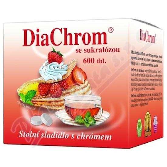DiaChrom se sukralózou tbl.600 nízkokalor.sladidlo