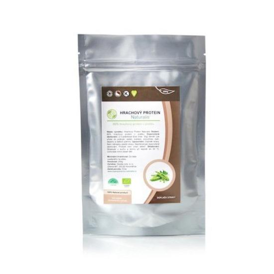 Hrachový Protein Naturalis BIO - 250g + praktická bambusová lžička v hodnotě 59 Kč nebo jiný dárek dle vlastního výběru