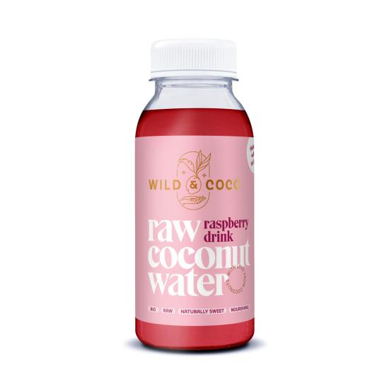 Kokosová voda Raspberry drink