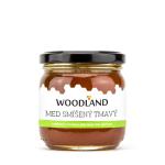 Woodland smíšený tmavý med 250 g