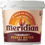 Meridian Arašídové máslo křupavé 1000 g