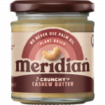 Meridian Kešu máslo křupavé 170 g