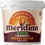 Meridian Bio Arašídové máslo křupavé 1000 g